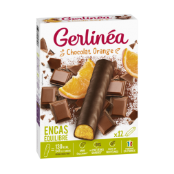 Barres encas chocolat orange