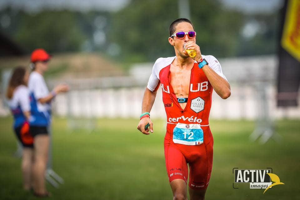Antony Costes pendant une course