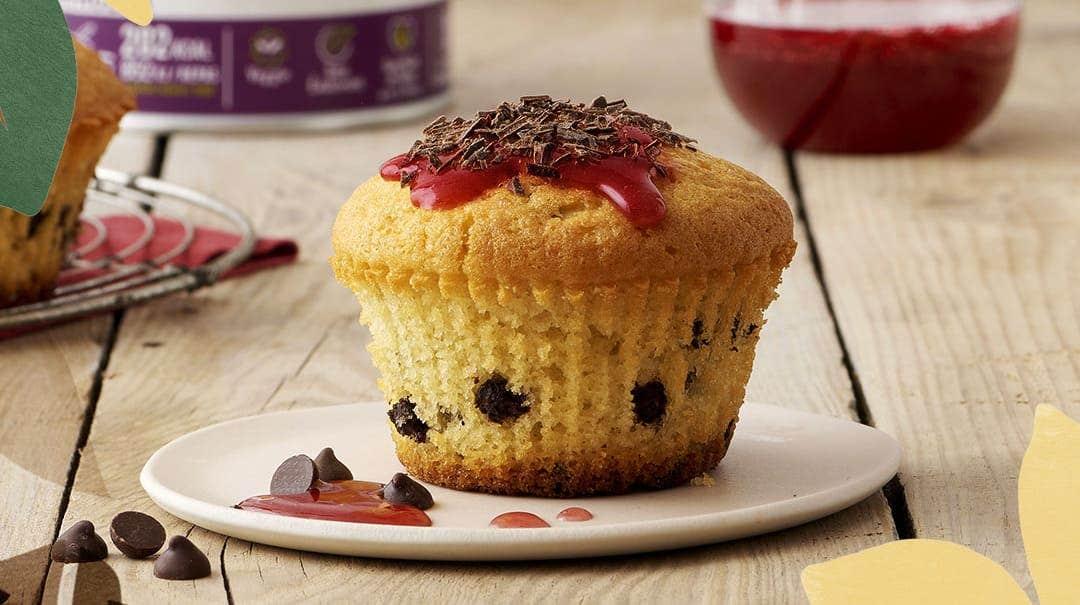Recette muffins chocolat vanille avec la crème repas Gerlinéa